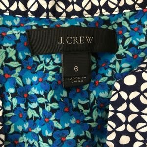 J. Crew Tops - J.Crew Peasant top in flower patch print 6